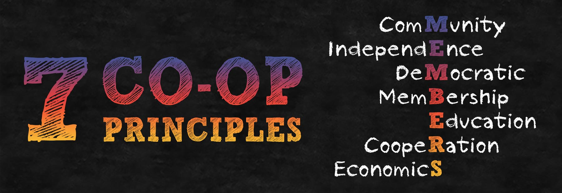 co-op principles